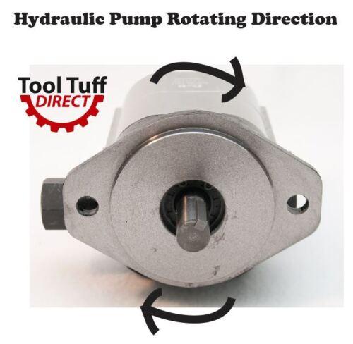 22GPM Hydraulic Log Splitter Two Stage Pump