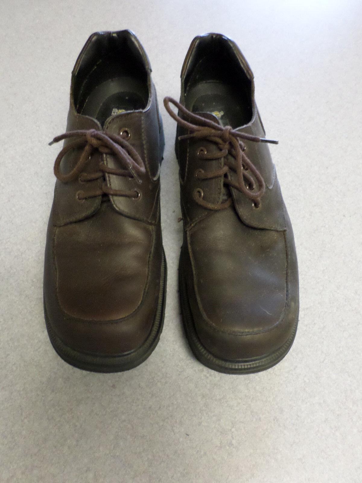Dr.  Doc  Martens dark brown oxfords. Men's 10 () made in England