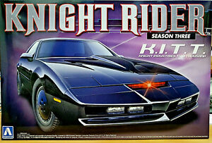 Kitt Knight Rider Knight Industries 2000 Supercar Season Three - Aoshima Kit