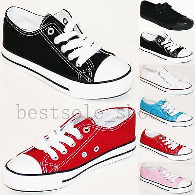KIDS RUNNING TRAINERS CHILDRENS SPORTS CAUSAL PUMPS GIRLS DIAMANTE SHOES SIZE