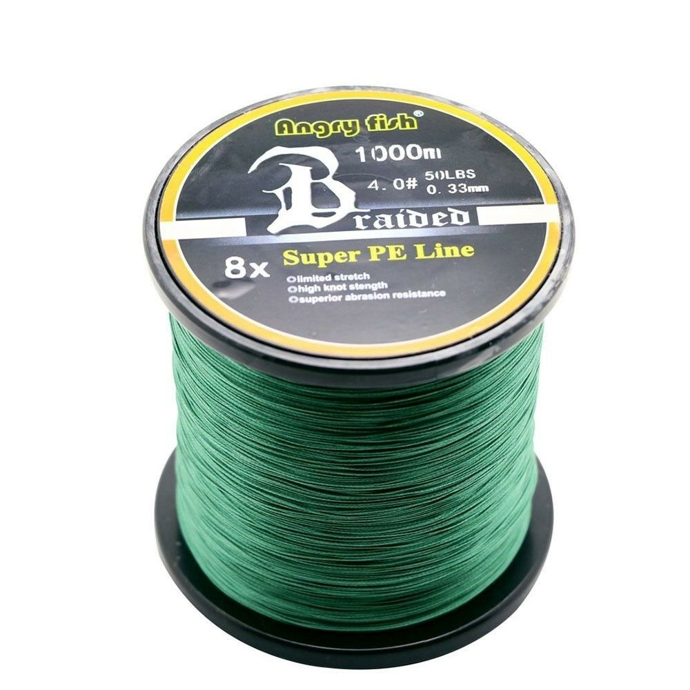 1000 Meters 8x Braided Fishing  Line 11 colors Super Braided Wire Floating Line  official authorization
