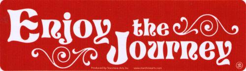 Enjoy The Journey Decal Small Bumper Sticker