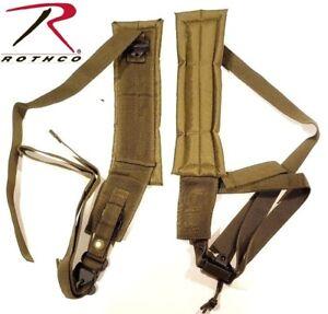 b056d2bc5381 Olive Drab Military Style ALICE Pack Frame Backpack Shoulder Straps ...