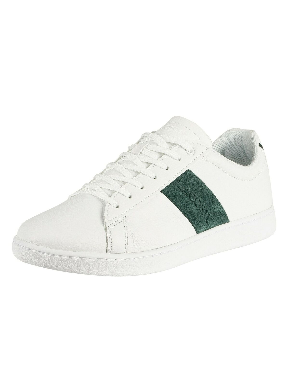 Lacoste Men's Carnaby Evo 319 1 SMA Leather Trainers, White