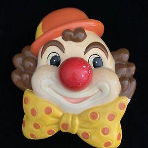 Vintage-Josef-Originals-Japan-Clown-Music-Box-Plays-Musical-Unknown-Tune
