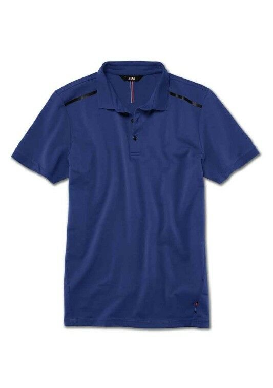 Original BMW ///M Poloshirt M Polo Shirt Herren blau Blau XXL 80142450979