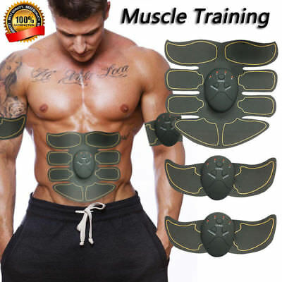Ultimate ABS Stimulator Spartan Style Abdominal Muscle EMS Exerciser AB /& Arms