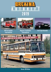 Brekina 12218 Zeitschrift BREKINA-Autoheft 2019