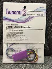 Soundtraxx 884002 Tsunami 2 TSU-2200 STEAM Locomotives Sound Decoder MODELRRSUPP