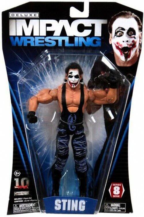 tienda en linea TNA Wrestling Deluxe Impact Serie 8 8 8 Figura De Acción Guasón Sting  punto de venta de la marca
