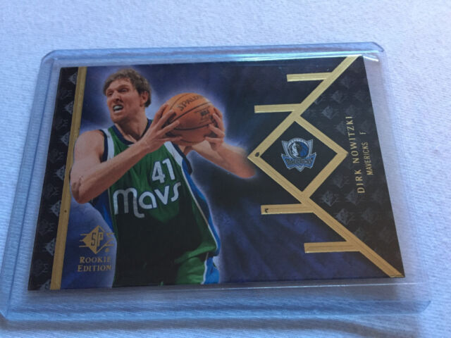 2007/8 Upper Deck SP Rookie Edition Dirk Nowitzki Dallas Mavericks base card #34