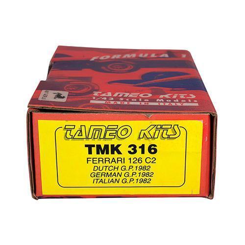 TAMEO Kit 1 43 1982 Ferrari 126 C2