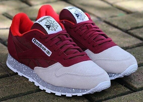 Reebok Classic Leather SM Burgundy Size 11 or 11.5 Sz 2016 12 for ... 82a1cb527