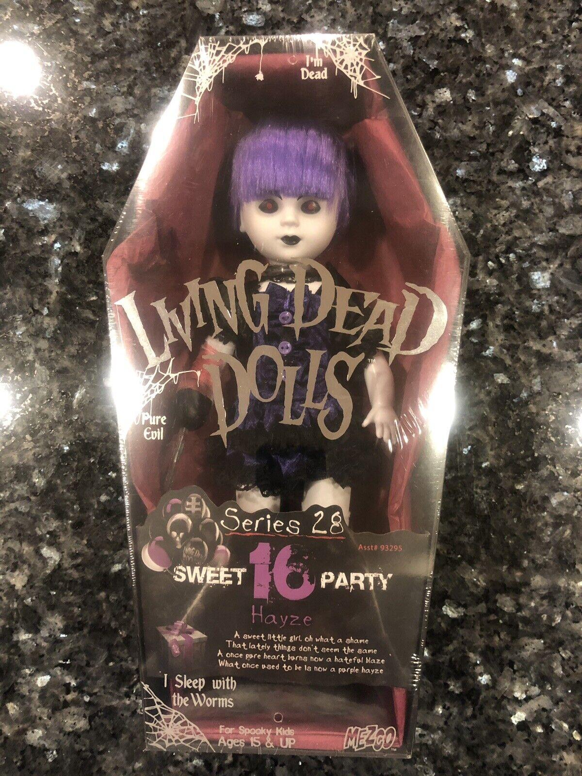 Living Dead Dolls Serie 28 Dulce 16 hayze Nuevo Sellado Envío Gratis