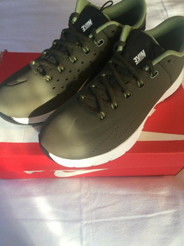 Nike Lunar Hyperrev Ext Olive Green And White Size 12 New In Box