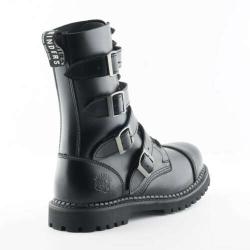 Black 14 Unisex Buckle Grinders Steel Quad Safety Cs Boot Derby Eyelet Toe gafxUCq4