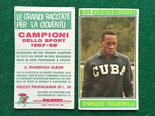 CAMPIONI DELLO SPORT 1967-68 n.50 FIGUEROLA CUBA ATLETICA Figurina Panini (NEW)