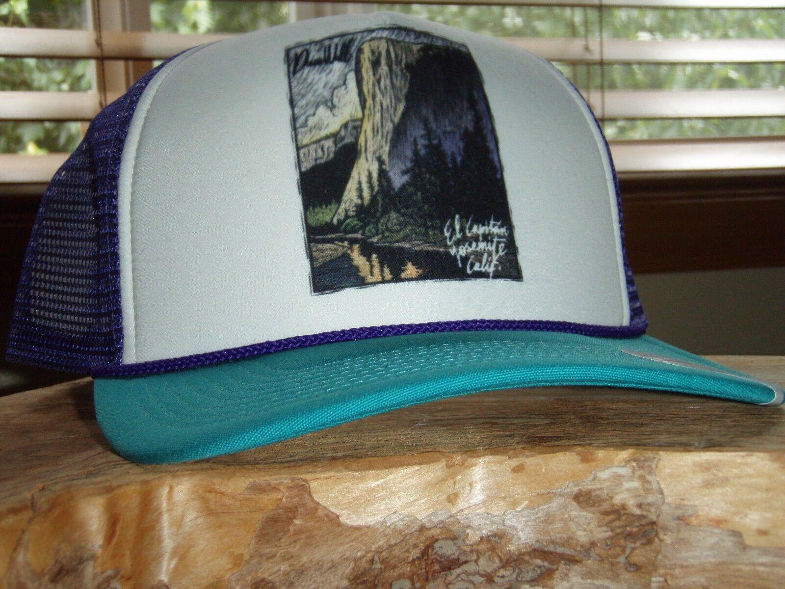 Patagonia El Cap Classic Interstate TRUT color High Crown Hat