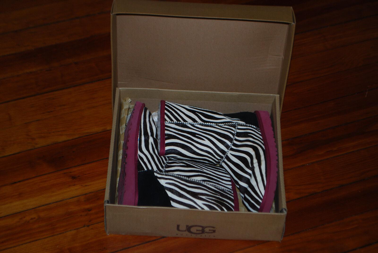 Women's Ugg Australia Exotic Zebra Hair Classic B… - image 2