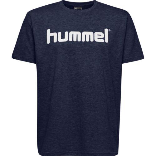 Kinder Art 203514 Training Freizeit Hummel Go Cotton Logo T-Shirt