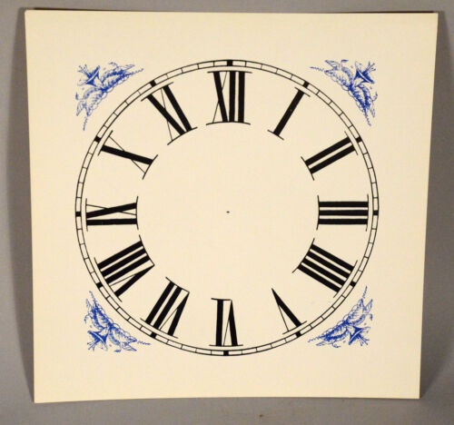 OG Clock Dial OGEE Original Style Paper Replacement New Old Stock