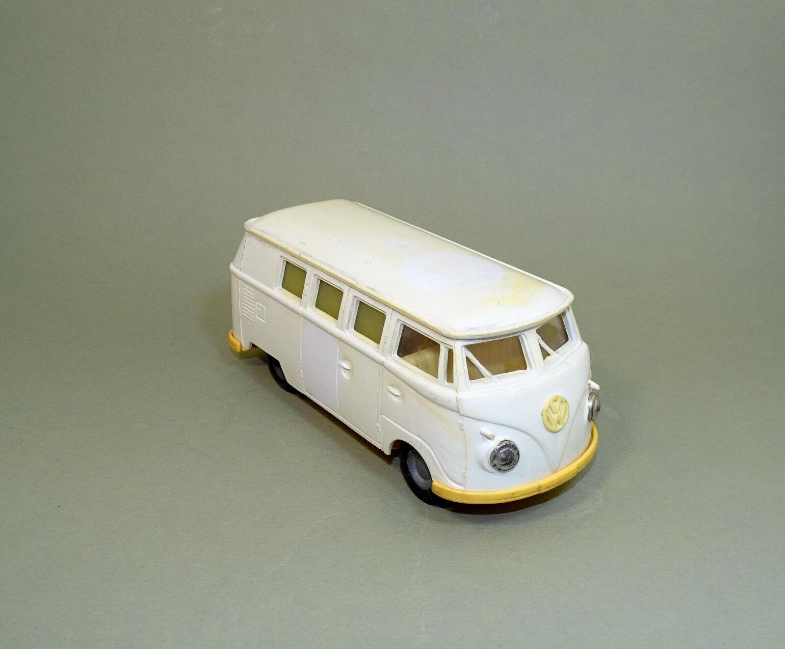 Vintage ambulancia Volkswagen VW T1 Bus Van Coche de Juguete Hungría 1970s