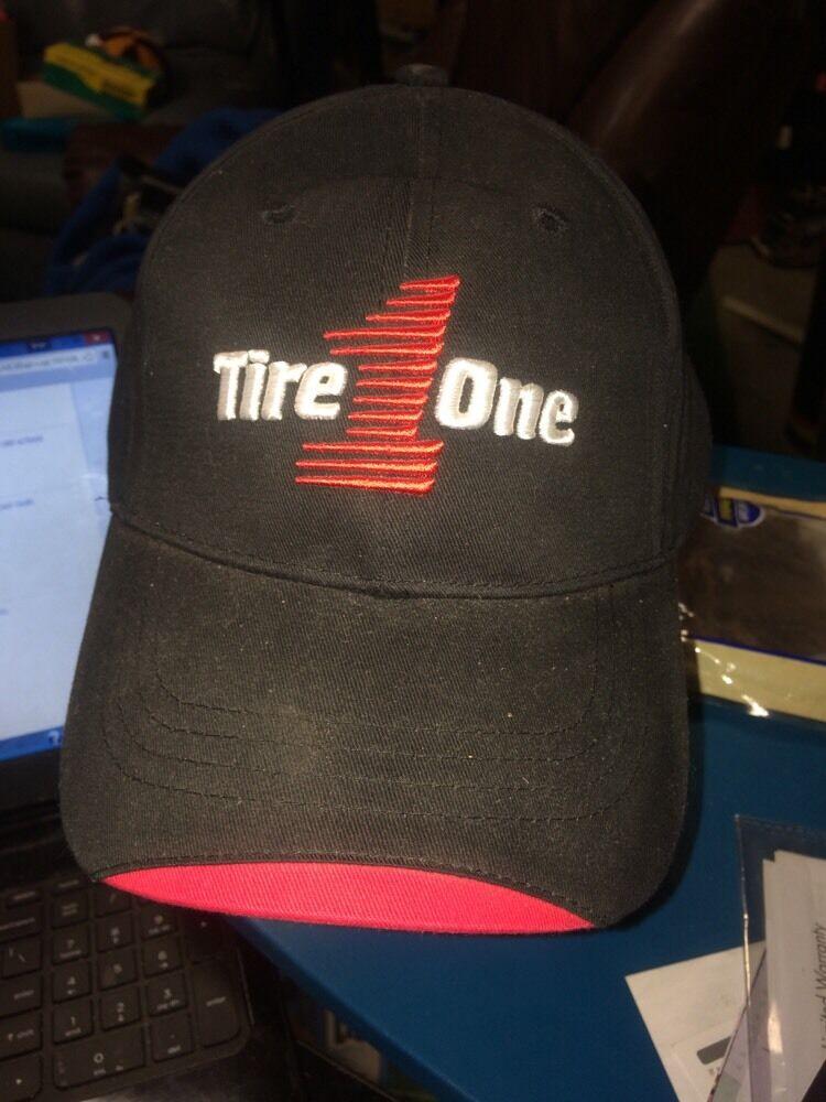 trucker hat 1 baseball cap TIRE ONE 1 hat MASTERCRAFT TIRES NEW cool lid old school 69b436