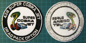 428-SCJ-SUPER-COBRA-JET-EMBROIDERED-PATCH-PATCHE-DRAG-RACING-MUSTANG-SHELBY