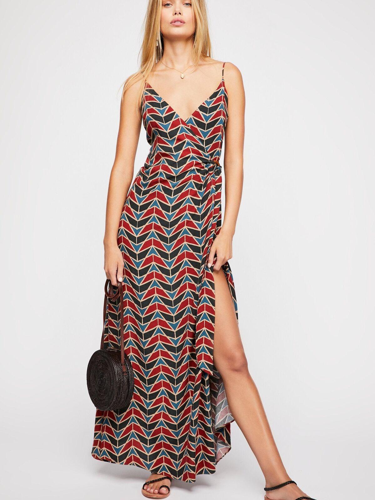 NEW Free People Siren Wrap Maxi dress size XS MSRP