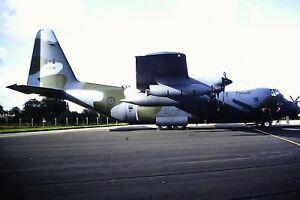 4-530-2-Lockheed-AC-130W-Stinger-II-Canadian-Air-Force-Kodachrome-SLIDE