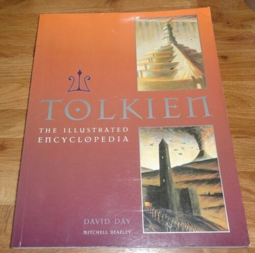 1 of 1 - Tolkien: The Illustrated Encyclopaedia by David Day (Paperback, 1993)