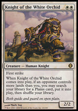 MTG KNIGHT OF THE WHITE ORCHID SPANISH POOR/MOLTO ROVINATO CAVALIERE DELL'ORCHID