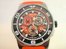 Invicta 18950 Mens Chronograph Reserve Sea Vulture Skeleton Dial Red Strap Watch