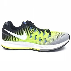 1d0a02829726 NEW Nike Mens Air Zoom Pegasus 33 Athletic Running Shoes Volt 831352 ...