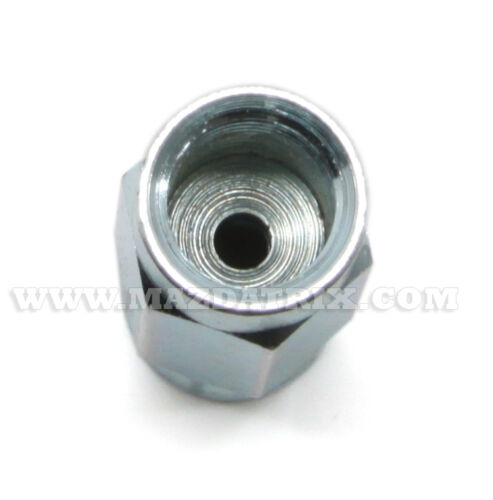 Fitting Metric 10mm x 1.0 Union for Bubble Flare 5 parts not full hexagonal
