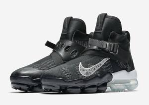 3c51585026d5 2018 Nike Air Vapormax Premier Flyknit SZ 10.5 Black Silver White ...