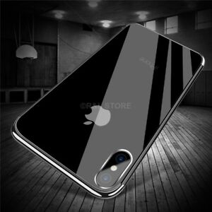 COVER-CUSTODIA-per-Apple-Iphone-X-in-TPU-SILICONE-ELECTROPLATING-ULTRA-SLIM
