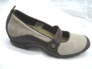 Merrell-size-8-5M-Bandeau-dark-taupe-brown-Mary-Janes-womens-ladies-flats-shoes