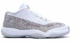 2015 Nike Air Jordan 11 XI Retro Low IE Cobalt Size 16. 306008-102. white grey
