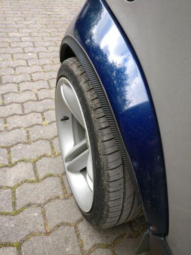2x Radlauf CARBON optik Rad Fender flare 120cm leiste für Jaguar Karosserieteile