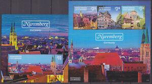 100% Vrai Grenade 2014 Anniversaire De Berlin Chute Du Mur Nuremberg Bloc + Ko ** Architecture-afficher Le Titre D'origine