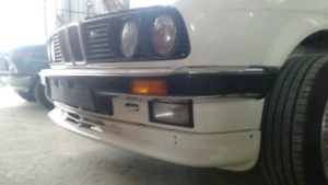 For-BMW-E30-front-SE-Bumper-spoiler-chin-lip-addon-valance-trim-splitter-Eleron