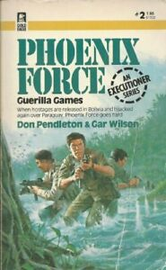 Guerilla Games (Phoenix Force #2) by Marton, Sandra Paperback Book The Fast Free