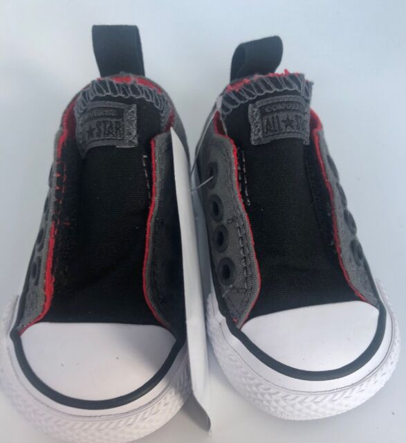 Converse Simple Slip On Shoes Black And