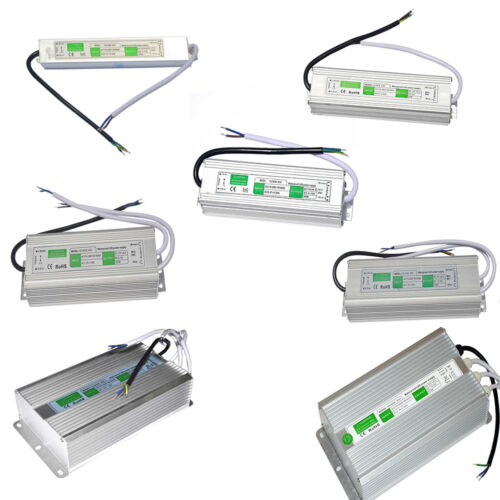 AC-DC 12V Outdoor Waterproof Transformer Power Supply Adapter LED Light Driver