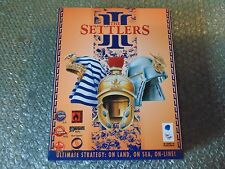 PC THE SETTLERS III 3 ULTIMATE STRATEGY ON LAND SEA ON-LINE BLUE BYTE 1998 3+YRS