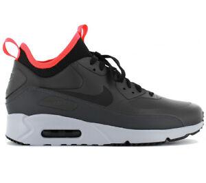 best loved 8ff96 9902a Das Bild wird geladen Nike-Air-Max-90-Ultra-Mid-Herren-Sneaker-