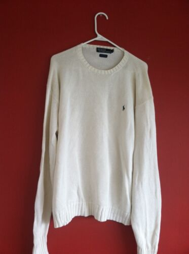 Sweater Lauren grande Xl Tamaño Ralph Color blanco Xtra dFPad7xn