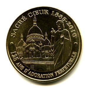 75018-Montmartre-Sacre-Coeur-125-ans-d-039-adoration-2009-Monnaie-de-Paris