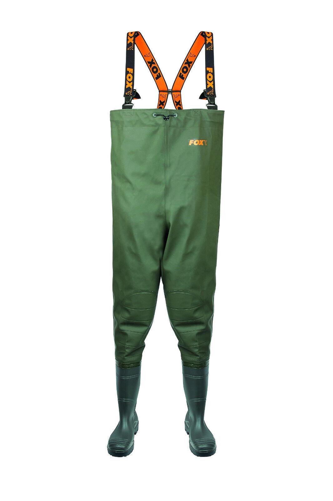 Fox chest WADERS impermeabili Pantaloni Wat Pantaloni Pantaloni Angel